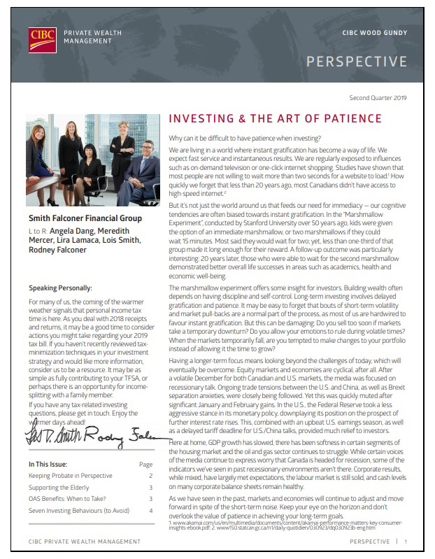 Investing and the Art of Patience